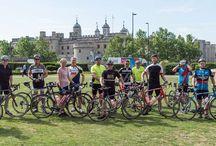 Charity Bike ride with Vending Heros