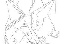 Mind forms Line Art