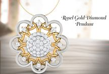 Diamond Pendants / Get more attractive and charming design diamond Pendants for women and men from Papilior.