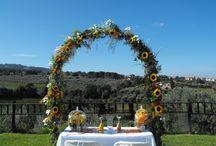 Mise en Place e allestimenti in genere / Allestimento floreale matrimonio
