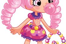 Shoppies dolls and shopkins!!