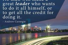 Leadership Quotes / Inspirational quotes about Leadership, success, and purpose in life.