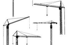 cranes / construction