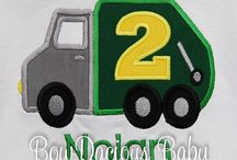 Garbage Truck Birthday