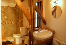 Shower Rooms / Photo's of the 2 x shower rooms at Alder Barn