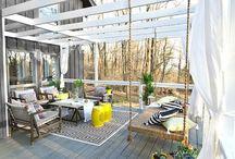 taras + balkon