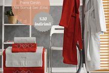 Bornoz ve Havlu Setleri / Yumuşacık aileniz ve kendiniz için yumuşacık bornoz ve havlu takımları.