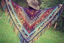 Shawl / Fashion, handmade