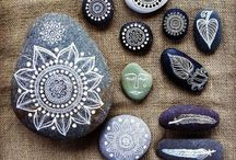 Painted Stones inspiracje
