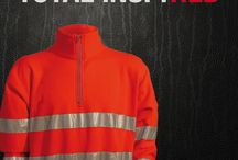 Red High visibility, EN471 / Brand new product and colour!
