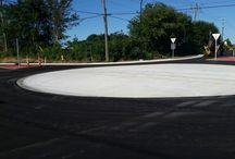 Textile/Hitchingham Roundabout