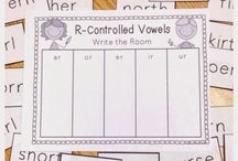 Super R ; r controlled vowels / by Christina Bradley