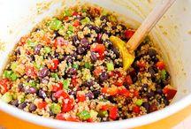 Salads / by MaryAnn Nettie Strobel