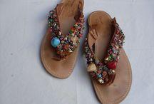 Thong Sandals hand made-Σαγιονάρες χειροποίητες