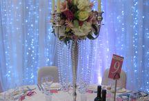 Wedding Candelabra / Stunning floral displays on candelabra for weddings
