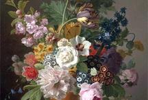 Dutch floral paintings