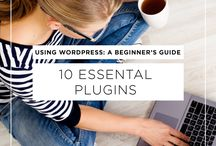 Wordpress Themes + Tutorials / These are wordpress themes and tools that you need to get started on wordpress. If you want a beautiful wordpress site, you will love these.