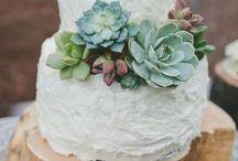 Wildflower Wedding: cake