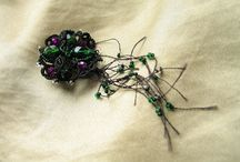My beads work / www.galka.biz Beads frivilite ankars Курсы рукоделия в Праге Tvorive kurzy v Praze Cheremisina Galina