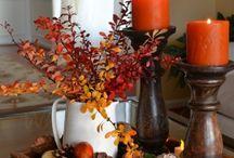 Arreglos florales y velas