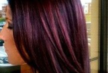 Hair - Blackcherry / Just another hair color I have had.