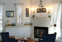 The Carriage Bay Cottage / Hand painted fox hunting murals? Yes please!