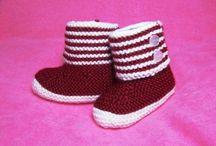 Lasten neuleet 3 sukat ja töppöset