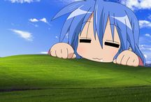 Lucky Star Anime Manga / Anime and Manga backgrounds, wallpapers, png, gif, icons, vectorials