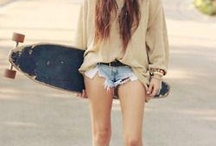 hot long and skate girls