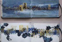 art journals, sketchbooks