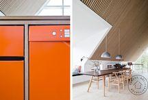 Mood Board / Et mood board om vores ønsker til et hus vi gerne vil have bygget.