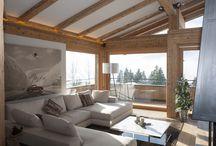 Wohnzimmer Alpin