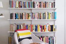Arbetsrum, böcker, läsa...