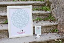 Wedding Prints / Signature Board - (guest leaves is signature on a leave) +INFO: designmolde@gmail.com FB: https://www.facebook.com/MoldeDesignWeddings/