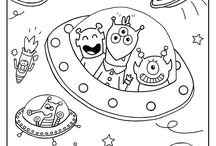 Kids: Coloring, Printables & Clip Art / by Marília Rosa Andreo