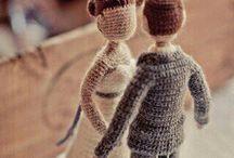 куколки свадьба