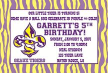 Canyon Turns 8 / Canyon wants a LSU birthday party!