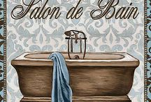LAMINAS BAÑOS = Bathrooms Bath sheets
