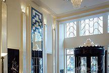Art Deco enteriör