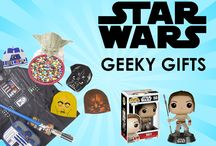 Geeky Gifts for Star Wars Fans / Geeky gifts for star wars fans. http://www.costumebox.com.au/geeky-gifts-and-fun/geeky-gifts-list-of-brands/shop-by-brand-1.html?theme=977
