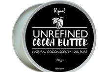 Ryaal Organic Cocoa Butter : Unrefined, 100% Pure Raw Cocoa Butter