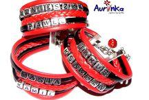 Personalizowane bransoletki z imieniem, napisem itp :)