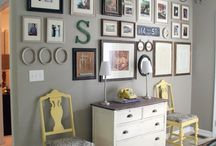 Entryway/Gallery Wall / by Elly K | Elly Says Opa!