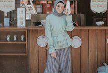 outfit atasan hijab 2018