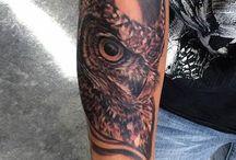 Tattoos / Baykus
