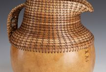 gourds --- basketry / by Pamela Knowles