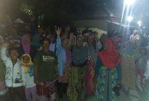 Petani DAS Klampok Demo Tolak Alat Berat  PT. Gemilang Bumi Sarana