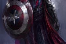 Medieval Marvel Characters