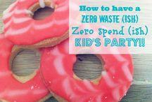 Zero Waste Party ideas!