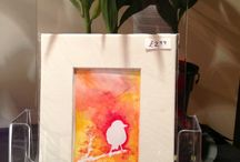 Current Work / My own artworks - watercolour and ink paintings, all for sale